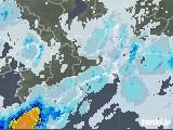 2020年06月10日の三重県の雨雲レーダー