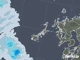 2020年06月10日の長崎県(五島列島)の雨雲レーダー