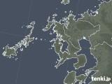 2020年06月10日の長崎県の雨雲レーダー