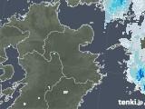 2020年06月10日の大分県の雨雲レーダー