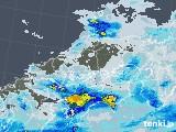 2020年06月11日の中国地方の雨雲レーダー