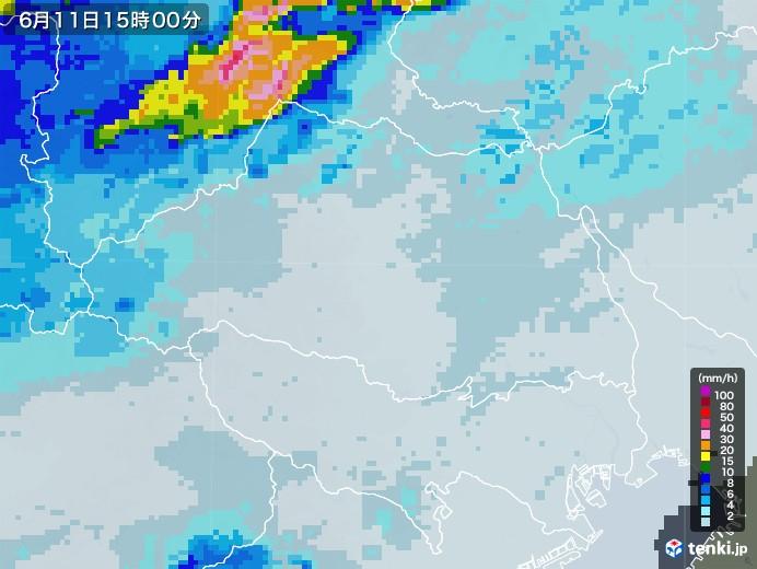 埼玉県雨雲レーダー