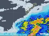 2020年06月11日の石川県の雨雲レーダー