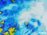 2020年06月11日の山梨県の雨雲レーダー