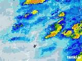 2020年06月11日の愛知県の雨雲レーダー