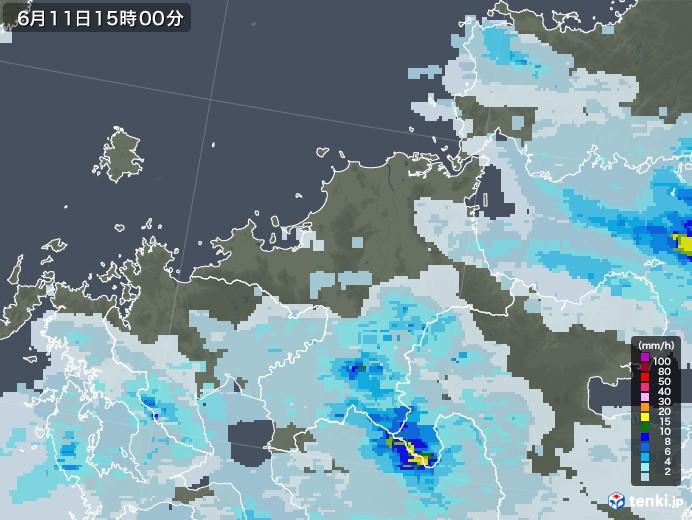 雨雲 レーダー 福岡 九州地方の雨雲レーダー(予報)