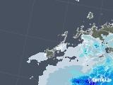 2020年06月11日の長崎県(五島列島)の雨雲レーダー