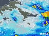 2020年06月11日の大分県の雨雲レーダー
