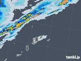 2020年06月11日の鹿児島県(奄美諸島)の雨雲レーダー