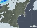 2020年06月11日の宮城県の雨雲レーダー