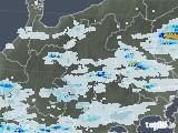 2020年06月12日の長野県の雨雲レーダー