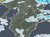 2020年06月12日の奈良県の雨雲レーダー