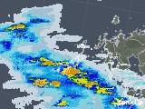 2020年06月12日の長崎県(五島列島)の雨雲レーダー