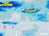 2020年06月13日の愛知県の雨雲レーダー