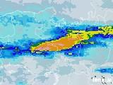 2020年06月13日の京都府の雨雲レーダー