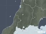 2020年06月13日の山形県の雨雲レーダー