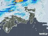 2020年06月14日の東海地方の雨雲レーダー