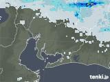 2020年06月14日の愛知県の雨雲レーダー