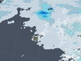 2020年06月14日の長崎県(五島列島)の雨雲レーダー