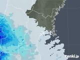 2020年06月14日の宮城県の雨雲レーダー