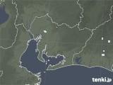2020年06月15日の愛知県の雨雲レーダー
