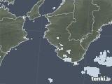 2020年06月15日の和歌山県の雨雲レーダー