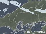 2020年06月15日の広島県の雨雲レーダー