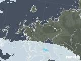 2020年06月15日の佐賀県の雨雲レーダー