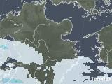 2020年06月15日の大分県の雨雲レーダー