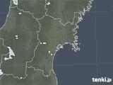 2020年06月15日の宮城県の雨雲レーダー