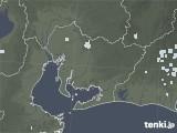 2020年06月16日の愛知県の雨雲レーダー