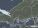 2020年06月16日の広島県の雨雲レーダー
