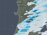 2020年06月16日の秋田県の雨雲レーダー