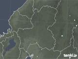 2020年06月17日の岐阜県の雨雲レーダー