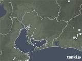 2020年06月17日の愛知県の雨雲レーダー