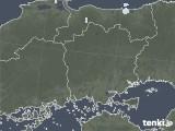 2020年06月17日の岡山県の雨雲レーダー