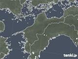 2020年06月17日の愛媛県の雨雲レーダー