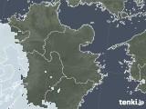 2020年06月17日の大分県の雨雲レーダー