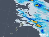 2020年06月17日の鹿児島県(奄美諸島)の雨雲レーダー