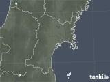 2020年06月17日の宮城県の雨雲レーダー