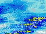 2020年06月18日の広島県の雨雲レーダー