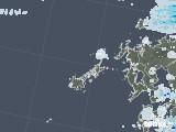 2020年06月18日の長崎県(五島列島)の雨雲レーダー