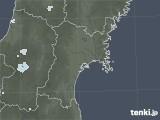 2020年06月18日の宮城県の雨雲レーダー