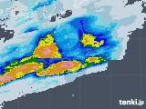 2020年06月19日の東京都(伊豆諸島)の雨雲レーダー