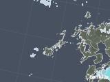 2020年06月19日の長崎県(五島列島)の雨雲レーダー