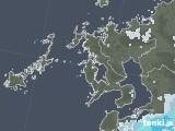 2020年06月19日の長崎県の雨雲レーダー