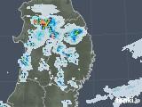 2020年06月19日の岩手県の雨雲レーダー