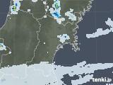 2020年06月19日の宮城県の雨雲レーダー