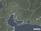 2020年06月20日の愛知県の雨雲レーダー