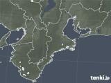 2020年06月20日の三重県の雨雲レーダー